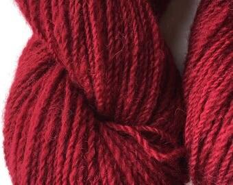 Cochineal Alpaca Merino Yarn