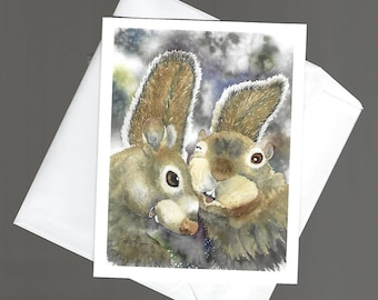Note Card squirrel Marry Me nature wildlife bowman blank notecard portrait send a chuckle rodent with tail humor fun