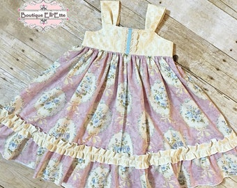 Ready to Ship 3T Girls Reverse Knot Dress Sweetness Collection Toddler Infant Girls