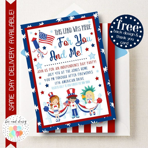 july 4th invitations selo l ink co