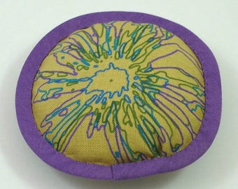 Unique Catnip Toy, Wild Cat Toys, Abstract Cat Pillow, Cat Chaos, Tangles Up, Big Round Cat Toy, Extraordinary Cats, PURPLE SPLAT