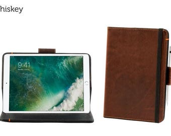Oxford Leather iPad Pro 10.5 Case - Whiskey l Pad and Quill