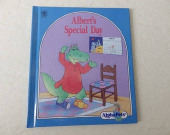 Children's Book: Albert's Special Day. A Story About Friendship. Hardcover, 1990. Near New.