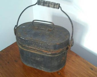 Miners lunch box Republic lunch box