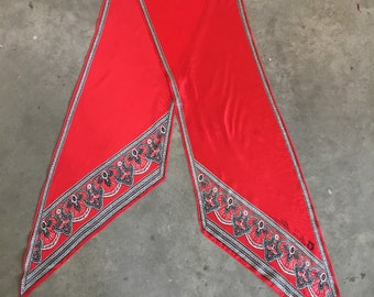 Vintage Anne Klein Silk Scarf