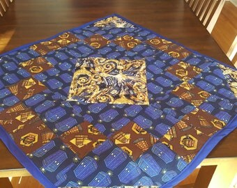 Dr. Who Baby Quilt