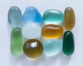 English Sea Glass - CHUNKS - Lot DC1168