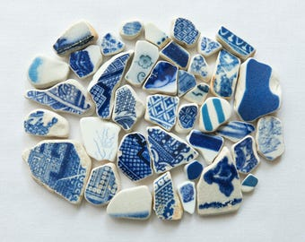 English Beach Finds - Pottery Pieces -Lot DC1187