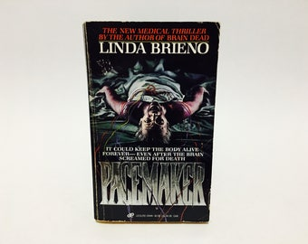 Vintage Horror Book Pacemaker by Linda Brieno 1987 Paperback Medical Thriller