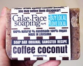 coffee soap natural vegan soap bar coconut soap olive oil soap exfoliating soap handcrafted natural soap soap for men vegan soap body wash