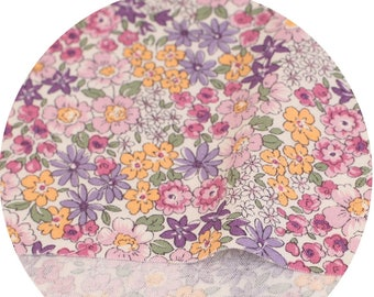 Petit Flowers Printed Cotton  by the yard (width 44 inches) 87955