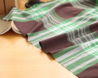 Yarn Dyed Plaid Tartan Cotton by the yard ( width 44 inches) 62109-2