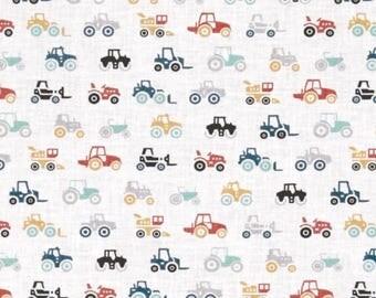 Tractor Bedding and Blanket, Boy Crib Bedding, Tractor Crib Sheet, Personalized Blanket, Barn Bedding, Farm Bedding Set, Farm Fresh Fabric