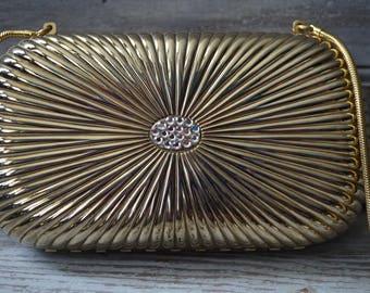 Saks Fifth Avenue Gold Purse