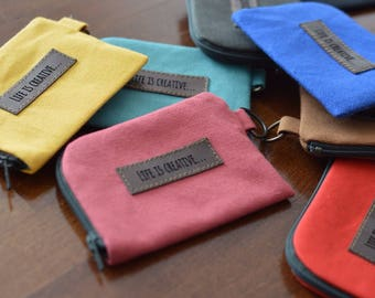Business card holder and coin pouch