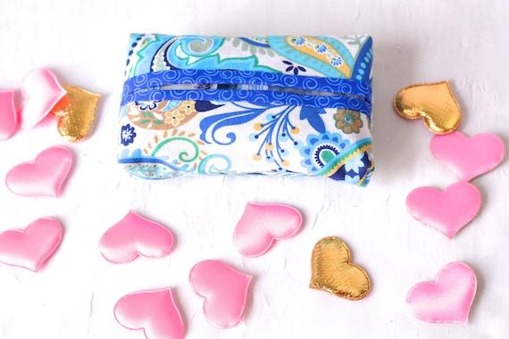 Easter Basket Filler, Kleenex Pocket Tissue Holder, Handmade Travel Tissue Case, Lovely Bachelorette Party Favor, Spring Purse Accessory