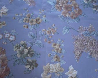 Fabric acrylic flowers (6)
