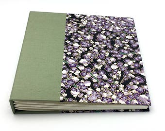 Green and Purple Photo Album - multiple sizes available