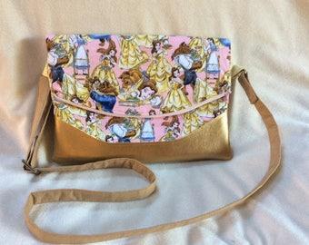Beauty and the Beast Crossbody Bag