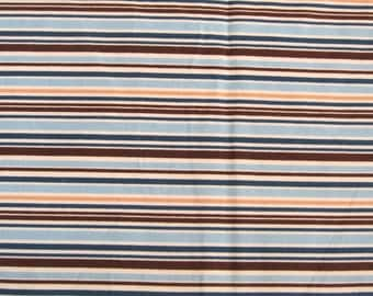 Flannel Riley Blake Fabric Roundup Stripes 1 1/4 yards
