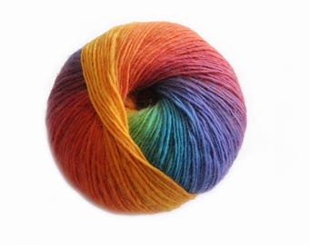 Bonita Yarns - Kaleidoscopic - Over The Rainbow