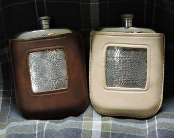 Bobby Singer Supernatural Leather Flask Cover