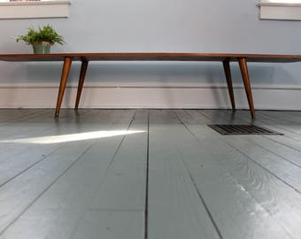 Mid Century Modern... Mid Century Modern Wooden Coffee Table