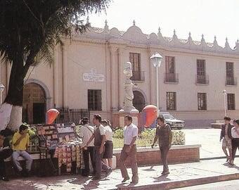 Postcard Honduras Plaza de La Merced