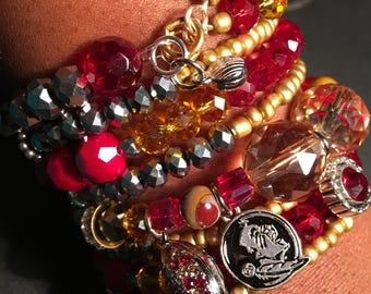 FSU Snake Bracelet
