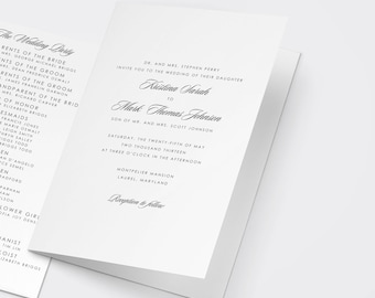 wedding program templates, program template, wedding ceremony templates, wedding program templates downloads, order of service