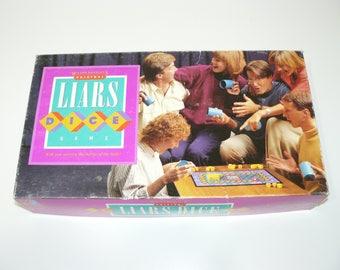 1987 LIARS DICE Game Milton Bradley - Perudo - Bluffing & Bidding - Pirate Dice