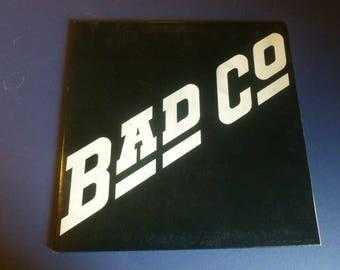 Bad Company Vinyl Record LP SS 8501 Swan Song 1974