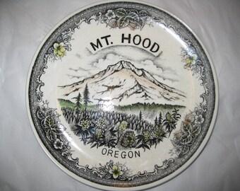 """Vintage 10"""" Oregon Souvenir Plate"""