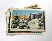 6 Vintage Winchester Virginia Unused Postcards Blank - Unique Travel Wedding Guest Book, Reception Decor, Travel Journal Supplies