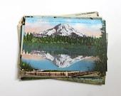25 Vintage Washington Unused Postcards Blank - Unique Travel Wedding Guest Book, Reception Decor, Travel Journal Supplies