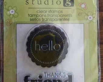 Studio G Hello Friend