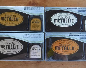 StazOn Metallic Ink Pad