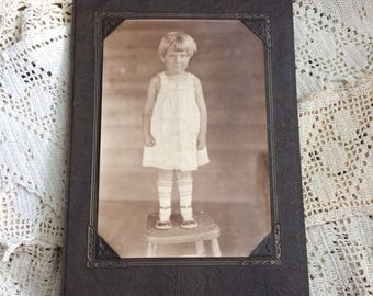 Reserved Listing Mary Loved Her Tube Socks Antique Photo