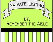 Private Listing for Davielle