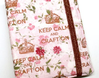 Keep Calm and Craft On  WIP Tracker Cover and Binder