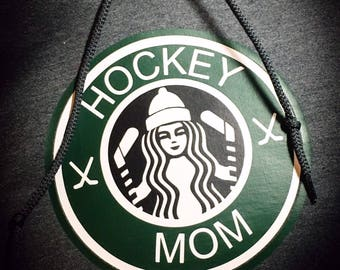 Hockey Coffee Themed T Shirt