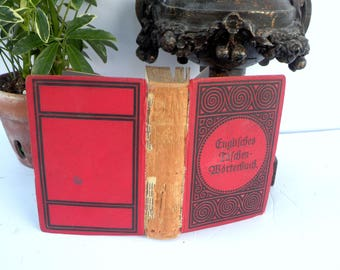 Englisches Taschen Worterbuch  English German English Pocket Dictionary