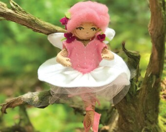 Ballerina Dress and Pointe Shoes, Fairy Fashion Kit, Doll clothes Kit, Tutu Dress and Ballet Shoes, Fairy Clothes, Doll Clothes Pattern