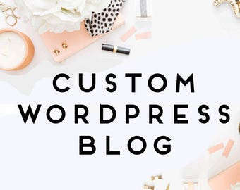 Custom Wordpress Blog Design - Blog Design - Wordpress Theme