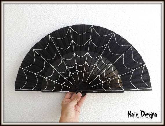 Spiderweb Hand Fan Large