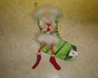 retired patience brewster department 56 christmas tree stocking ornament heart