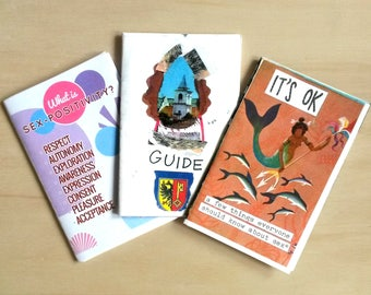 Sex-Positive Mini Zine Pack! (3 zines!)