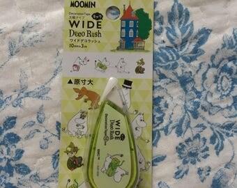 NEW WIDE deco Rush Moomin A