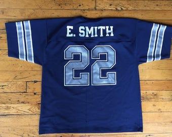Vintage Emmit Smith NFL jersey USA large