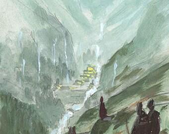 Rivendell - study #5